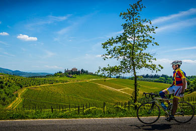 Chianti tour in bicicletta sport performance toscana