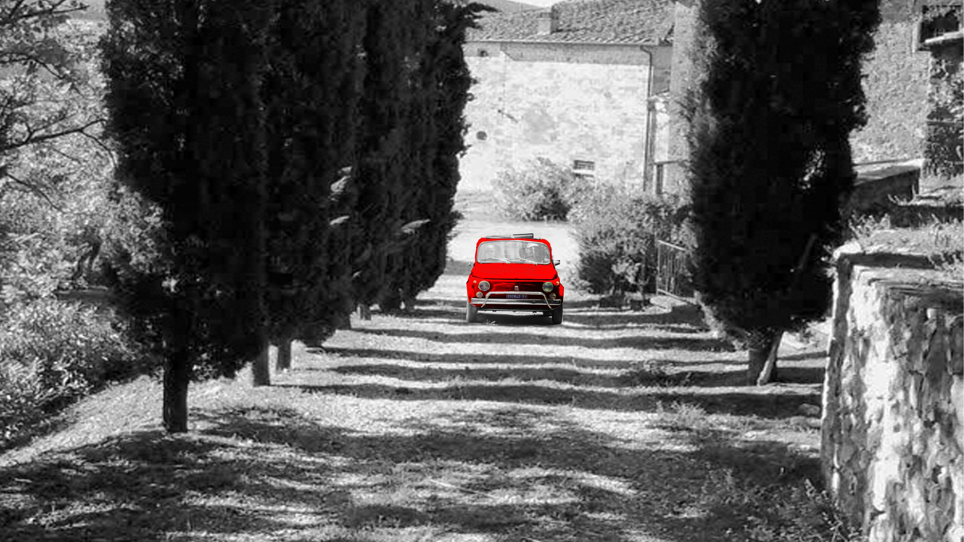 Vintage fiat 500 tours in chianti classico wineries tuscany