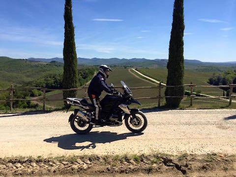 Tuscany motorbike tours chianti off road maxienduro